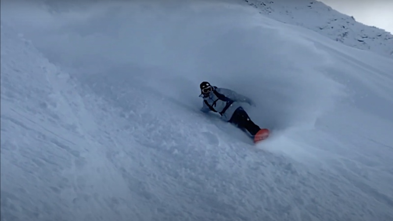 Backcountry session con Stale Sandbech desde Suiza
